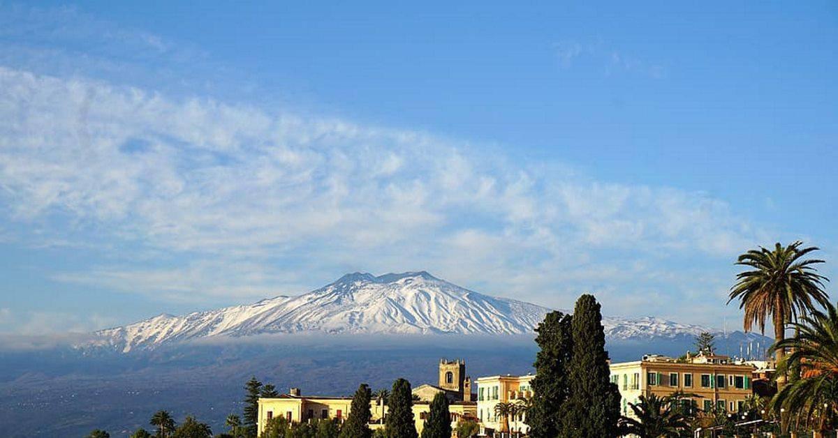 etna volcano sicily italy