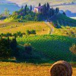 נופים וטבע בטוסקנה – מסע לתוך גלויה