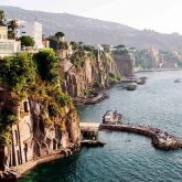 Coast of Piano di Sorrento. Italy